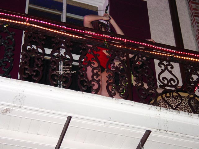 Pic #1 - Balcony Upskirts In New Orleans