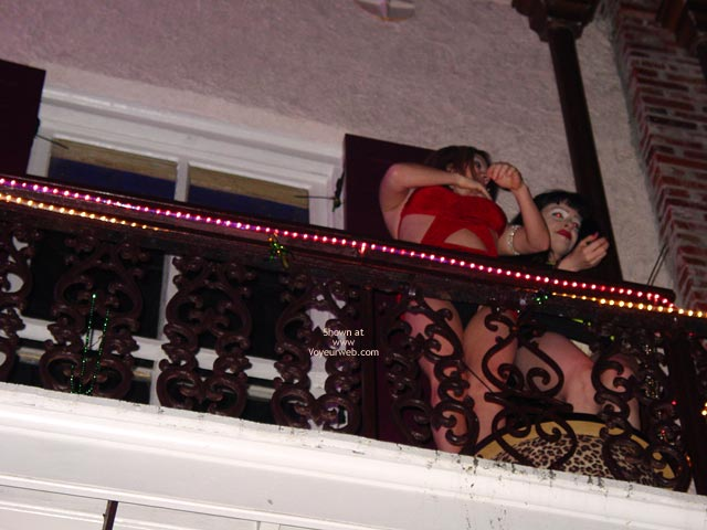 Pic #2 - Balcony Upskirts In New Orleans