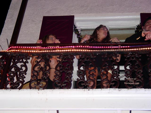 Pic #3 - Balcony Upskirts In New Orleans