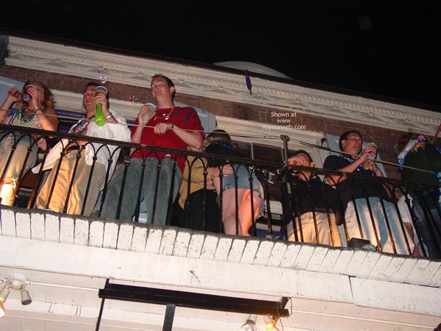 Pic #6 - Balcony Upskirts In New Orleans