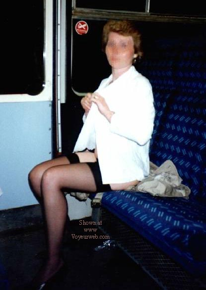 Pic #1 - Tracey NIP on the Train