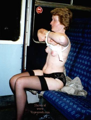 Pic #2 - Tracey NIP on the Train
