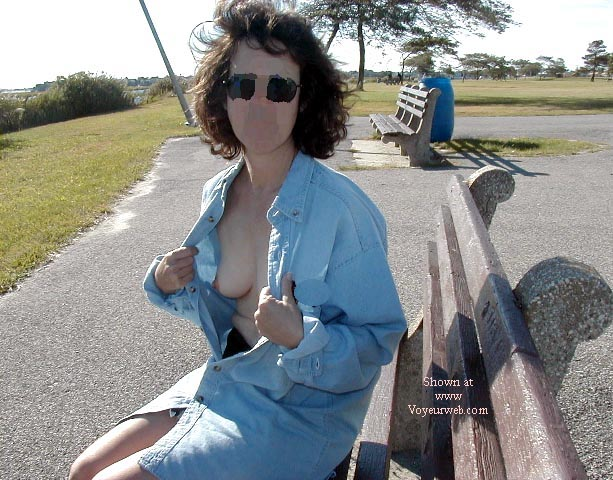 Pic #1 - Northeast Wife Nude In the Park Pt2