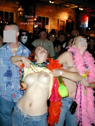 Pic #3 - Halloween on Bourbon Street with Newman