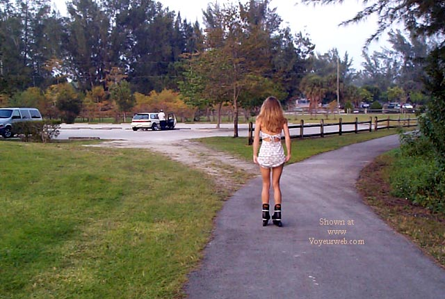 Pic #1 - Sugar on Rollerblades