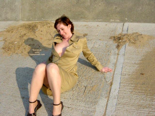 Pic #2 - Sylvie Catches Some Sun