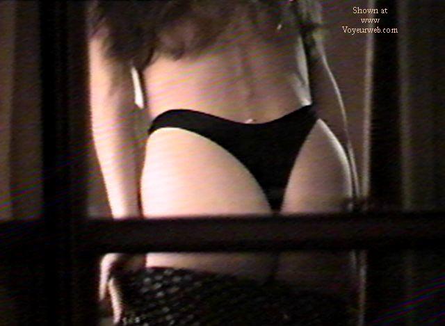 Pic #4 - Texas GF through motel window