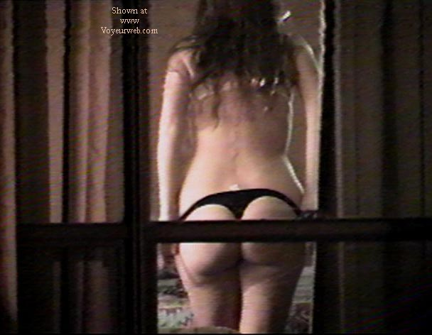 Pic #9 - Texas GF through motel window
