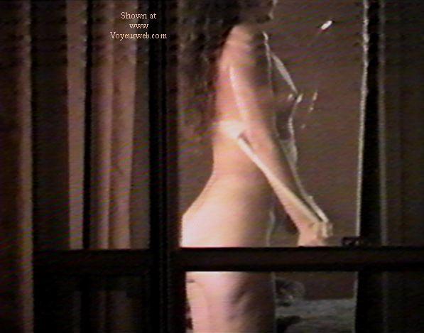 Pic #2 - Texas GF through motel window 2