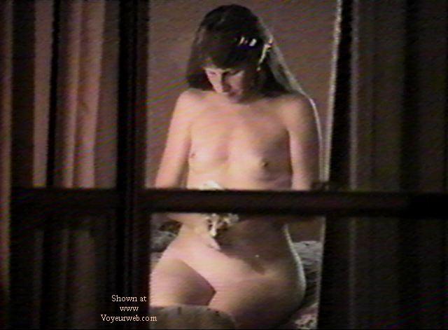 Pic #5 - Texas GF through motel window 2