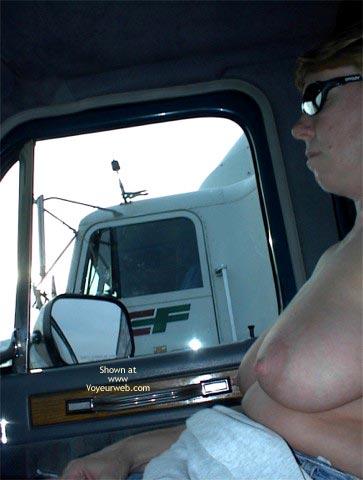 Pic #10 - Rhonda Flashing Truckers