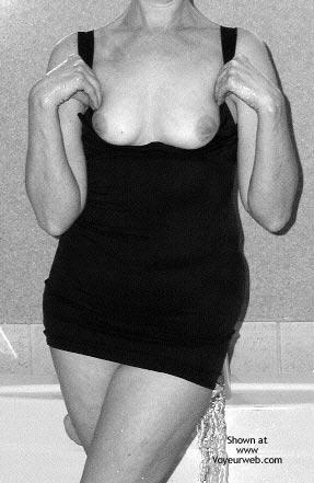 Pic #4 - Wifes black dress