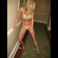 Naughty Girl's Gold Bikini