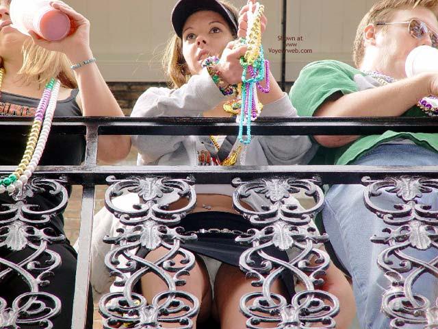 Pic #4 - Mardi Gras Upskirts