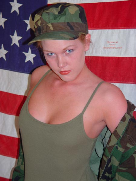 Pic #4 - Sunnybare Supports The Troops