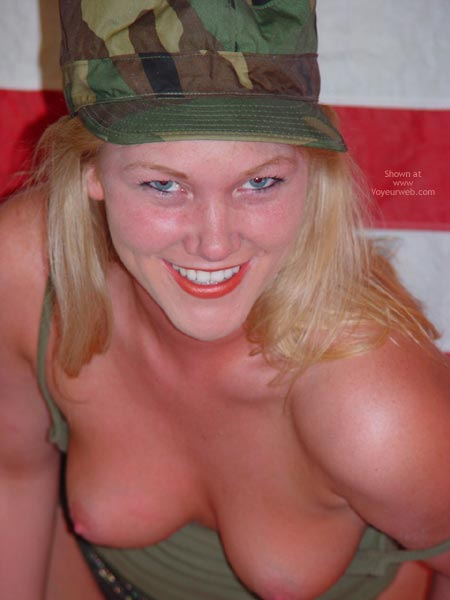 Pic #10 - Sunnybare Supports The Troops