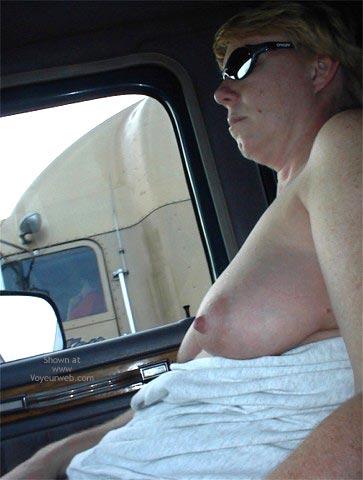 Pic #8 - Rhonda Flashing Truckers