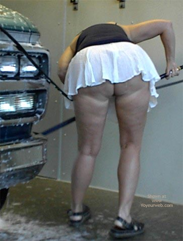 Pic #2 - Rhonda At The Car Wash