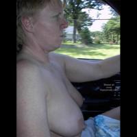Rhonda Flashing In The Car