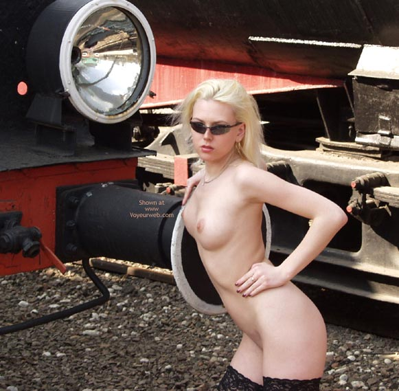 Pic #1 - Monika And The Steam-Engines.