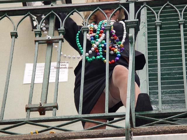 Pic #5 - Bourbon Street  Balcony Upskirt
