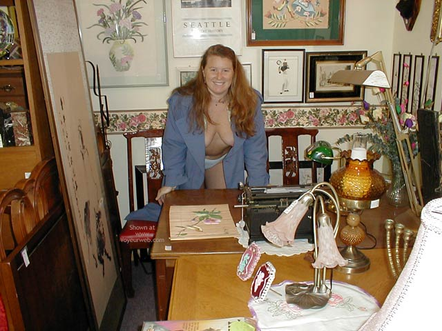 Pic #8 - Antique Shopping : Redhead In Seattle