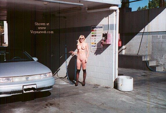 Pic #3 - car wash at noon