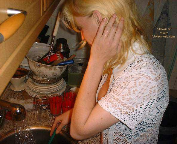Pic #1 - doing the dishes 2