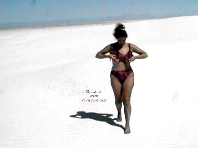 Pic #1 - Stripping in White Sands