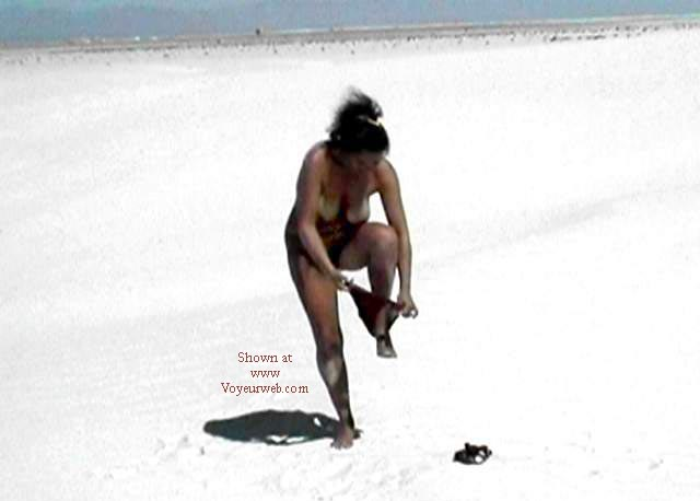 Pic #7 - Stripping in White Sands