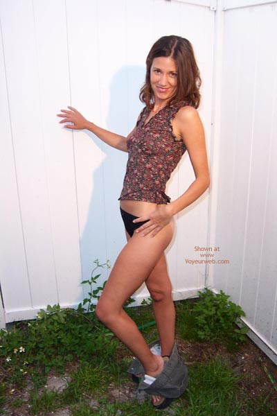 Pic #5 - Shannon Strips Outside