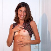 Small Titts Teaser - Hard Nipple, Small Tits, Tan Lines