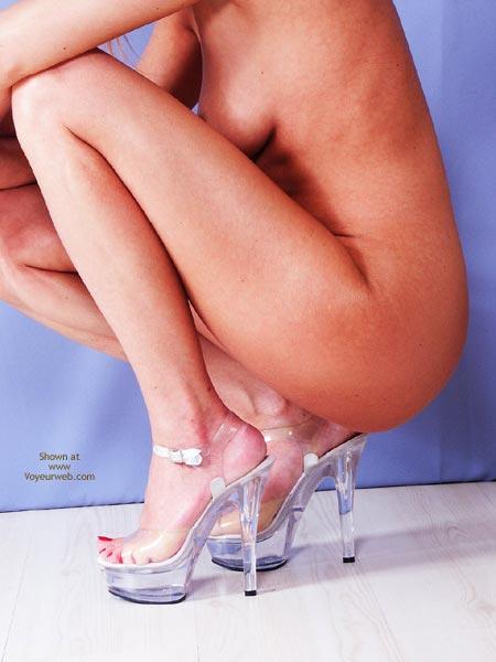 Pic #7 - Susy Rocks My New Plateau Heels
