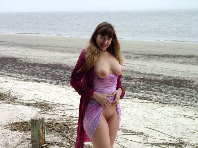 Pic #1 - Purple Patty At A Jekyll Island Beach