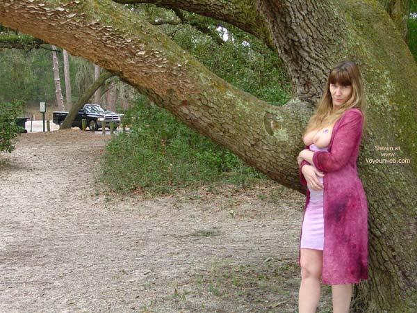 Pic #2 - Purple Patty At A Jekyll Island Beach