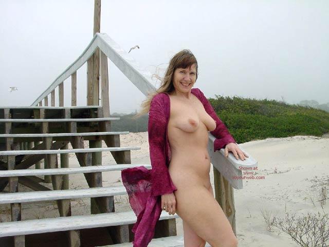 Pic #4 - Purple Patty At A Jekyll Island Beach