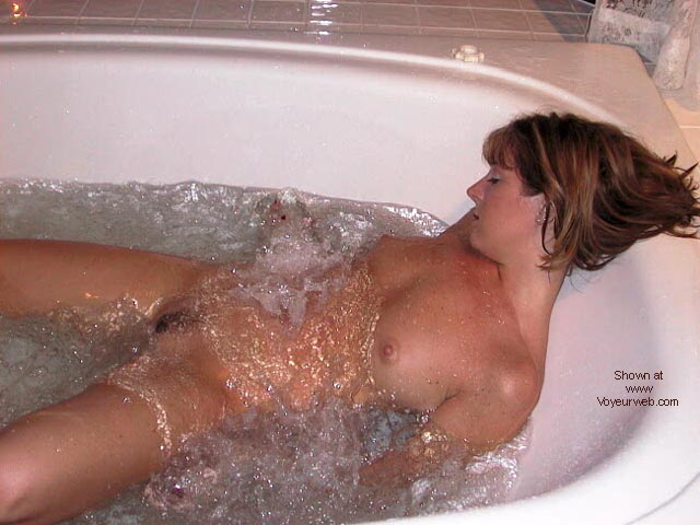 Pic #5 - Hot 24 yr old Wife at Jacuzzi Cabin