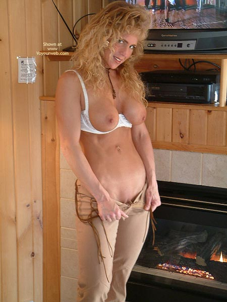 Pic #2 - Warming My Booty By The Fire