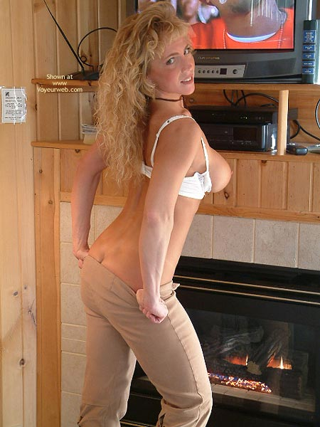Pic #3 - Warming My Booty By The Fire