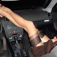 Wife's Very Long Sexy Legs On Dash - Long Legs, Sexy Feet, Sexy Legs