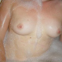 Leather_e Taking A Bath And A Penis…