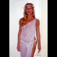 Party Timers - Blonde Hair, G String, Nipples, See Through
