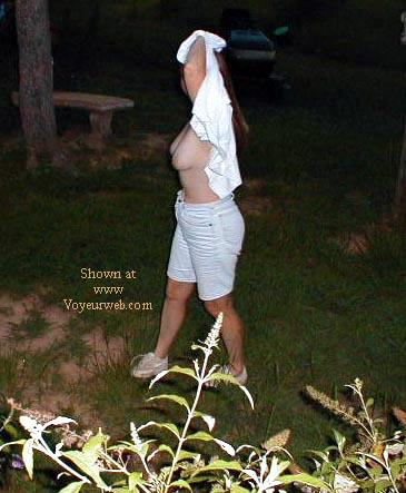 Pic #4 - Susan Showing Off Outside