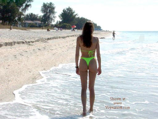 Pic #9 - Swampthing on the Beach