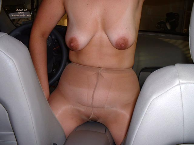 Pic #2 - Fun Undressing In My Car!