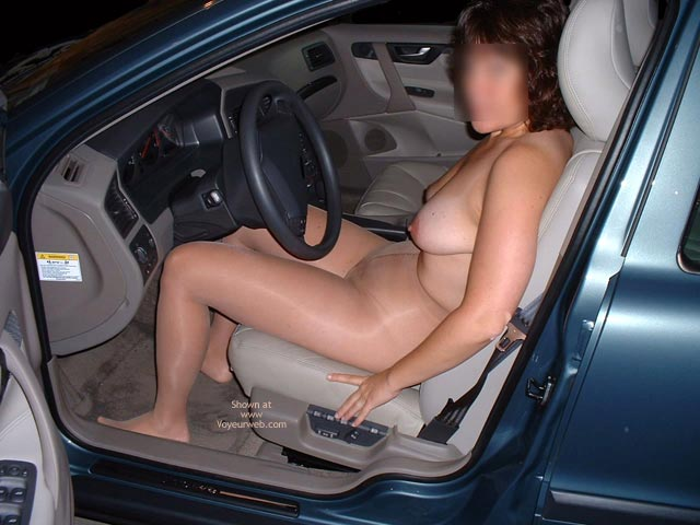 Pic #4 - Fun Undressing In My Car!