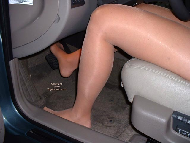 Pic #5 - Fun Undressing In My Car!