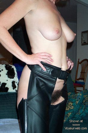 Pic #8 - Hairy Wife #9 in Chaps