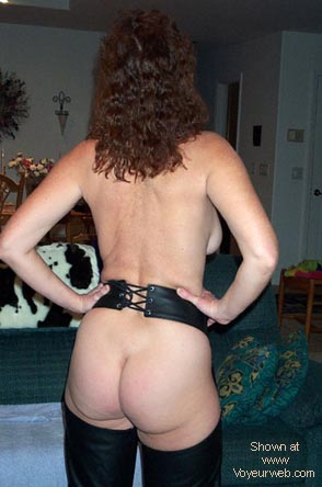 Pic #9 - Hairy Wife #9 in Chaps