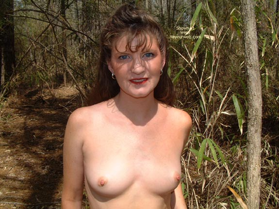 Pic #4 - Daisy Gets Naked In The Woods